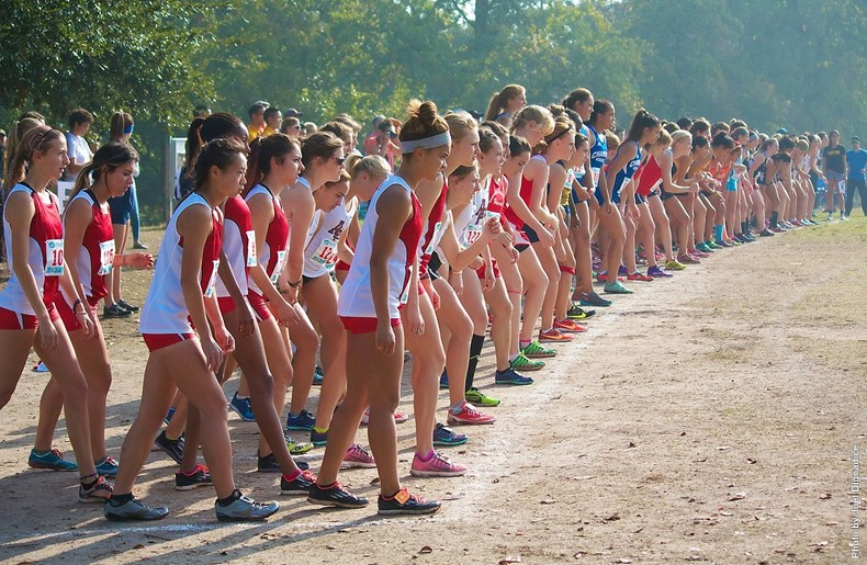 Women's cross country PacWest