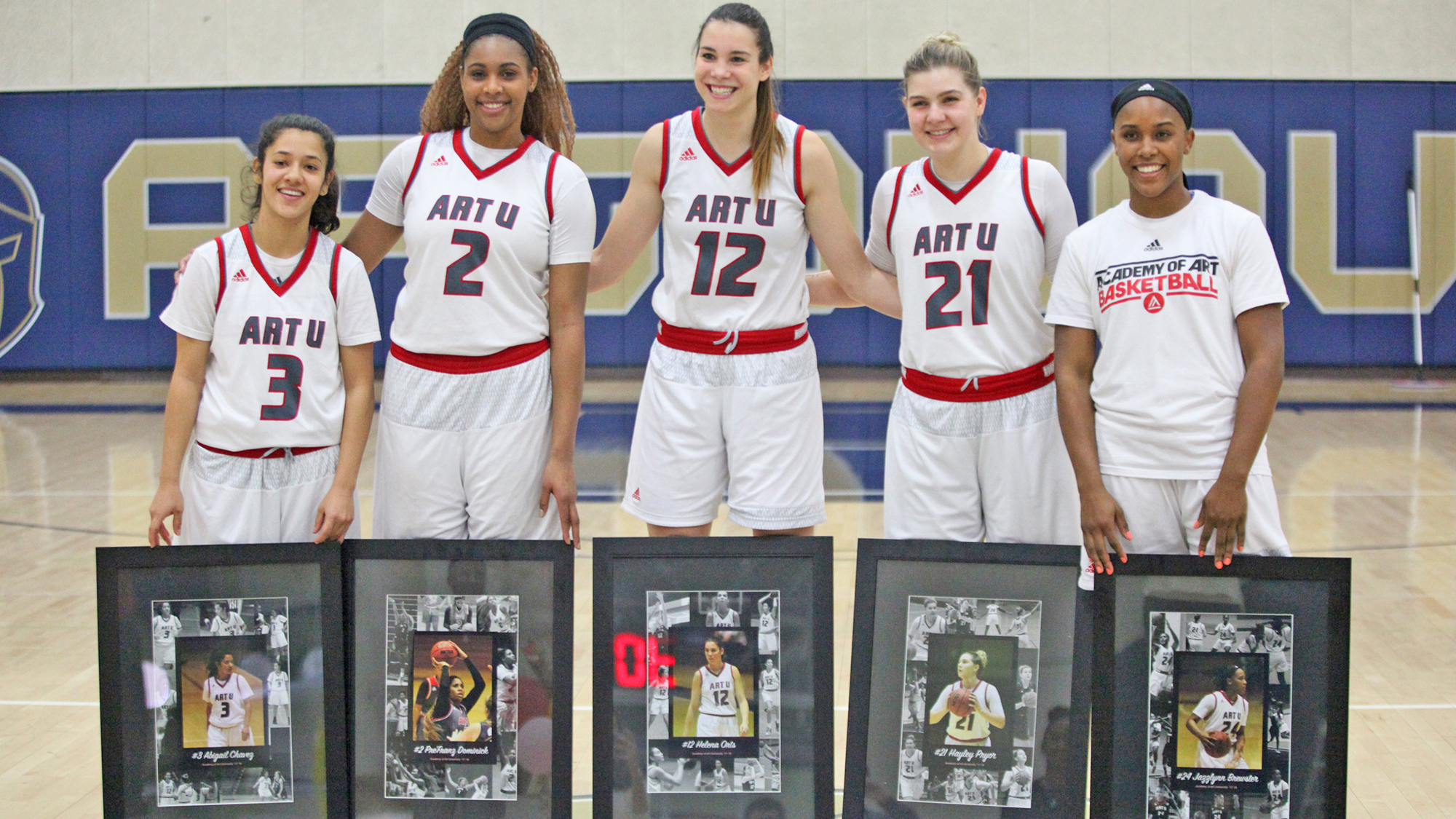ART U Sends Seniors Out With 72-69 Victory Over Concordia